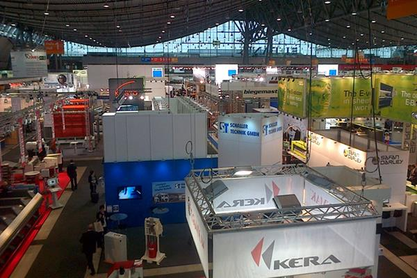 Tromont Sales team in Stuttgart, Blechexpo – International trade fair for sheet metal working